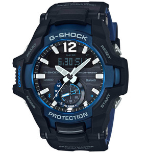 Casio G-Shock Gravity Master Bluetooth Tough Solar Watch GR-B100-1A2ER