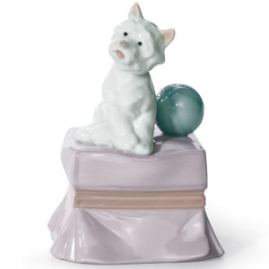 Lladro Porcelain My Favorite Companion Dog Figurine 01006985