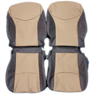 2010-2014 Toyota Prius Custom Real Leather Seat Covers (Front)