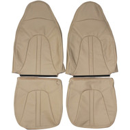 1997-2002 Ford Expedition Custom Real Leather Seat Covers (Front)