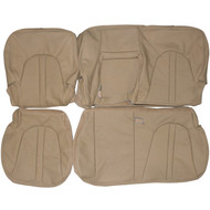 1997-2002 Ford Expedition Custom Real Leather Seat Covers (Rear)
