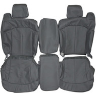 1998-2002 Chevrolet 1500 2500 Custom Real Leather Seat Covers (Front)