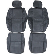 2011-2014 Jeep Cherokee Laredo Custom Real Leather Seat Covers (Front)