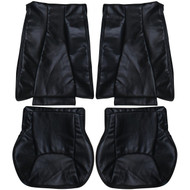 1999-2005 Mercedes S-Class Custom Real Leather Seat Covers (Rear)