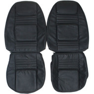 1970-1981 Chevrolet Camaro Custom Real Leather Seat Covers (Front)