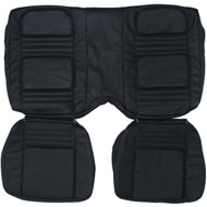 1970-1981 Chevrolet Camaro Custom Real Leather Seat Covers (Rear)