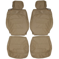 2000-2005 Cadillac de Ville Custom Real Leather Seat Covers (Front)