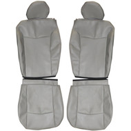 2007-2010 Chrysler Sebring Custom Real Leather Seat Covers (Front)