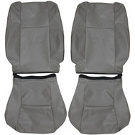 2005-2014 Toyota Tacoma Custom Real Leather Seat Covers (Front)
