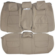 1995-2000 Lexus LS400 Custom Real Leather Seat Covers (Rear)