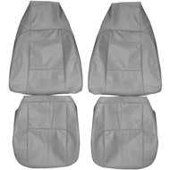 1979-1981 Chevrolet Camaro Custom Real Leather Seat Covers (Front)
