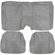 1979-1981 Chevrolet Camaro Custom Real Leather Seat Covers (Rear)