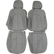 1996-2003 Mercedes CLK430 Custom Real Leather Seat Covers (Front)