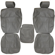 2004-2008 Ford F150 Custom Real Leather Seat Covers (Front)