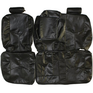 2003-2006 Chevrolet Tahoe Custom Real Leather Seat Covers (Rear)