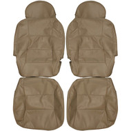 1998-2002 Lincoln Navigator Custom Real Leather Seat Covers (Rear)