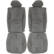 2007-2014 Dodge Avenger Custom Real Leather Seat Covers (Front)