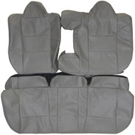 2007-2014 Dodge Avenger Custom Real Leather Seat Covers (Rear)