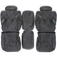 1998-2003 Dodge Durango Custom Real Leather Seat Covers (Rear)