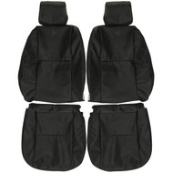 2003-2008 Pontiac Vibe Custom Real Leather Seat Covers (Front)