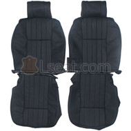 1975-1978 Jaguar XJ6-C Coupe Custom Real Leather Seat Covers (Front)