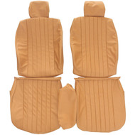 1976-1986 Mercedes E-Class Custom Real Leather Seat Covers (Front)