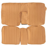 1976-1986 Mercedes E-Class Custom Real Leather Seat Covers (Rear)