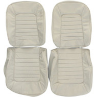 1965-1966 Chevrolet Corvette Custom Real Leather Seat Covers (Front)