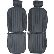1967-1974 Jaguar XKE Roadster Custom Real Leather Seat Covers (Front)