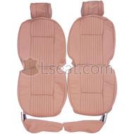1968-1979 Jaguar XJ6 XJ Custom Real Leather Seat Covers (Front)