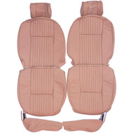 1968-1979 Jaguar XJ6 XJ Custom Real Leather Seat Covers (Front)