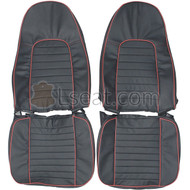 1970 AMC AMX Custom Real Leather Seat Covers (Front)