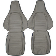 1984-1989 Porsche 911 Carrera Custom Real Leather Seat Covers (Front)