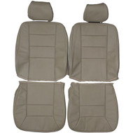 1991-1995 Mercedes E320 Custom Real Leather Seat Covers (Front)