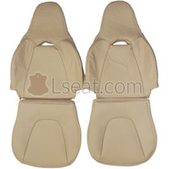 1993-1997 Ford Probe Custom Real Leather Seat Covers (Front)