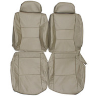 1995-1997 Lexus LX450 Custom Real Leather Seat Covers (Front)