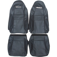 2003-2007 Toyota MR-S Spyder Custom Real Leather Seat Covers (Front)
