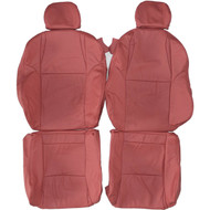 2004-2006 Pontiac GTO Custom Real Leather Seat Covers (Front)