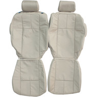 2005-2011 Cadillac STS Custom Real Leather Seat Covers (Front)