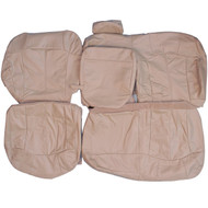 2000-2006 Chevrolet Suburban Custom Real Leather Seat Covers (Rear)