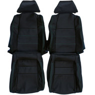 1990-1999 Toyota MR-2 Custom Real Leather Seat Covers (Front)