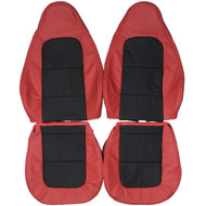 1996-2002 BMW Z3 Convertible Custom Real Leather Seat Covers (Front)