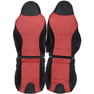 1996-2002 BMW Z3 Special Edition Custom Real Leather Seat Covers (Front)