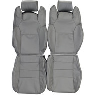 1986-1992 Toyota Supra A70 Custom Real Leather Seat Covers (Front)
