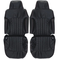 1998-2004 Chevrolet S10 Blazer Custom Real Leather Seat Covers (Front)