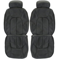 1996-2001 Oldsmobile Bravada Custom Real Leather Seat Covers (Front)