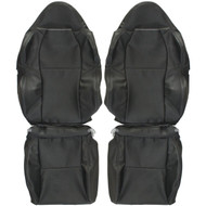 2002-2006 Acura RSX Custom Real Leather Seat Covers (Front)