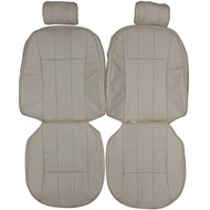 1993-1994 Jaguar XJ6 Sedan Custom Real Leather Seat Covers (Front)