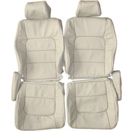 1998-2007 Lexus LX470 J100 Custom Real Leather Seat Covers (Front)