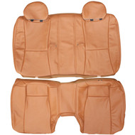 2002-2010 Lexus SC430 Custom Real Leather Seat Covers (Rear)